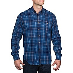 Raging Bull - L/S Large Check Cotton Shirt