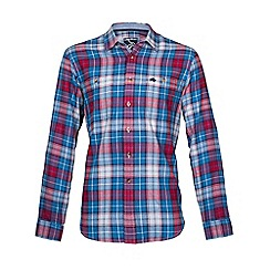 Raging Bull - L/S Large Check Shirt-Red