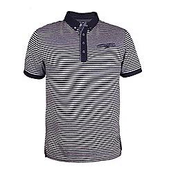 Raging Bull - Fine Stripe Jersey Polo
