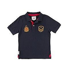 Raging Bull - Crest Polo - Navy