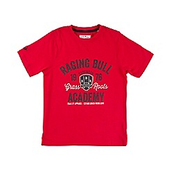 Raging Bull - Shield T/Shirt - Red
