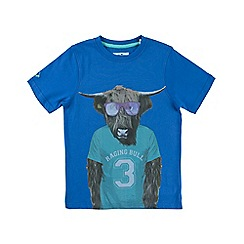 Raging Bull - No 3 Bull T/Shirt - Cobalt