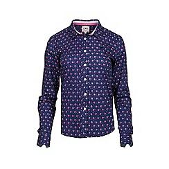 Raging Bull - Ditsy Floral Shirt - Navy