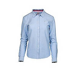 Raging Bull - Cotton Oxford Shirt - Sky Blue