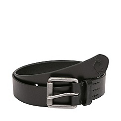Raging Bull - Leather Belt- Black