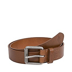 Raging Bull - Leather Belt- Chocolate