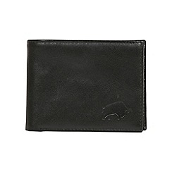 Raging Bull - Leather Wallet - Black