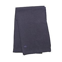 Raging Bull - Plain Knit Scarf - Navy