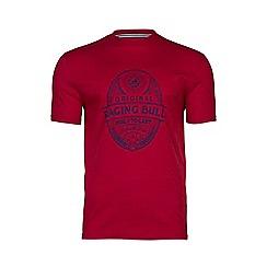 Raging Bull - Rugby Ball Print T/Shirt
