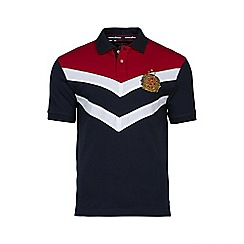 Raging Bull - Chevron Panel Polo