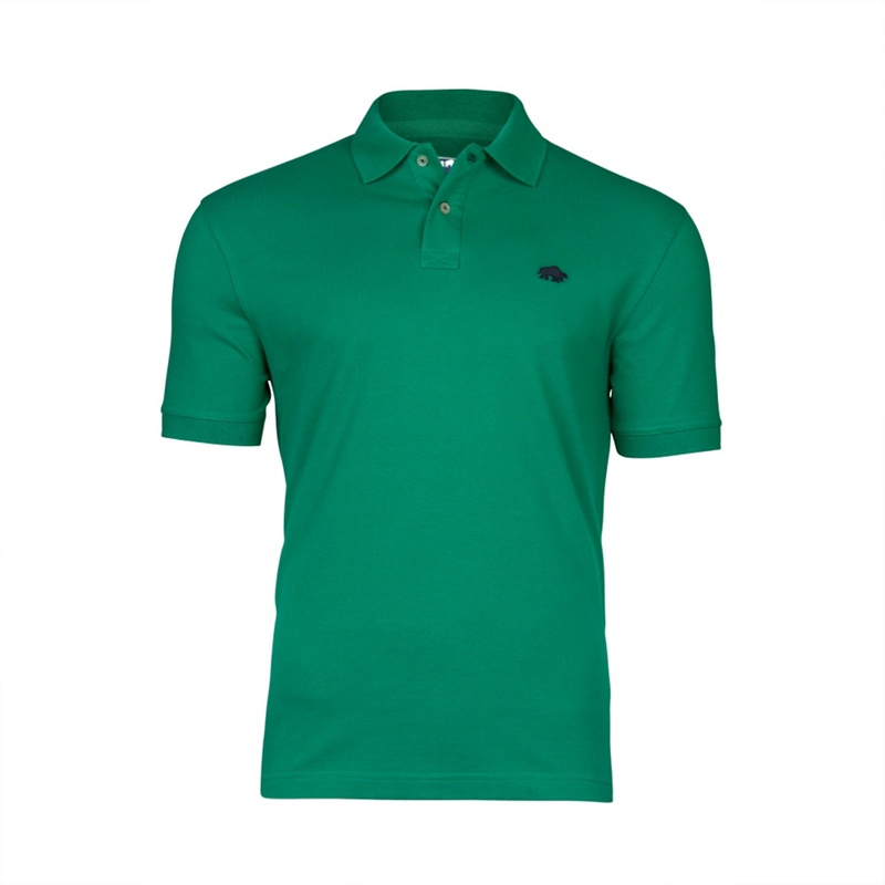 Raging Bull New Signature Polo, Men's, Size: Xx Large, Green.