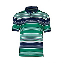 Raging Bull - Irregular Stripe Polo