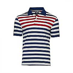 Raging Bull - Chest Stripe Polo