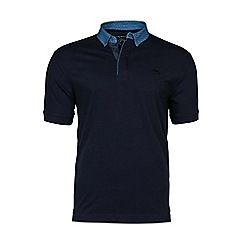 Raging Bull - Polka dot collar polo