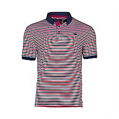 Raging Bull - Pin Stripe Polo