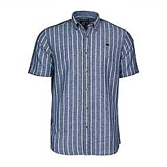 Raging Bull - S/S Breton Stripe Linen Shirt