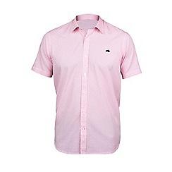 Raging Bull - S/S Dobby Polka Dot Shirt