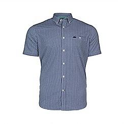 Raging Bull - S/S Fine Gingham Shirt