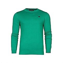 Raging Bull - Crew Neck Cotton/Cashmere Sweater