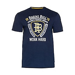 Raging Bull - Crest Applique Tee