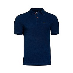 Raging Bull - Indigo Pocket Pique Polo