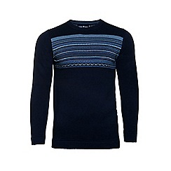 Raging Bull - Fairisle panel sweater