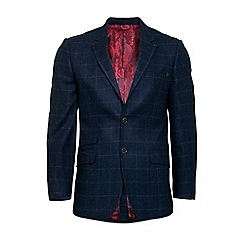 Raging Bull - Tweed overcheck blazer