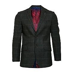 Raging Bull - Tweed overcheck blazer