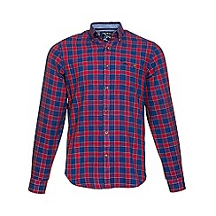 Raging Bull - Check regular fit shirt