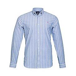 Raging Bull - Stripe Oxford Shirt
