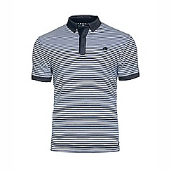 Raging Bull - Shirt Collar Stripe Jersey Polo