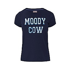 Raging Bull - Moody Cow T/Shirt - Navy