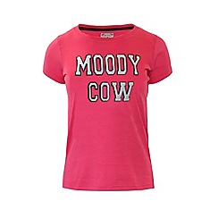Raging Bull - Moody Cow T/Shirt - Pink