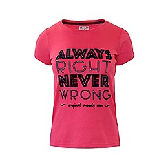 Raging Bull - Always Right T/Shirt - Pink