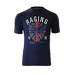 Raging Bull - Great Britain T/Shirt - Navy