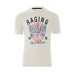 Raging Bull - Great Britain T/Shirt - Off White