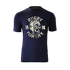 Raging Bull - Rugby For Life T/Shirt - Navy