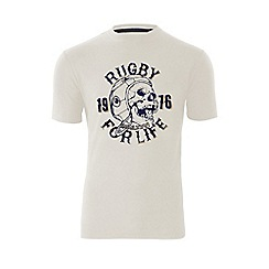 Raging Bull - Rugby For Life T/Shirt - Off White