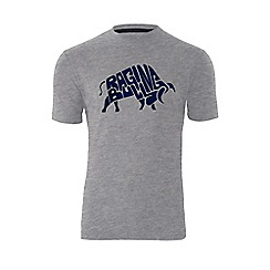 Raging Bull - Word Bull T/Shirt - Grey