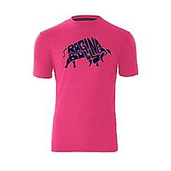 Raging Bull - Word Bull T/Shirt - Vivid Pink