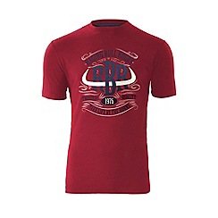 Raging Bull - Horns T/Shirt - Red