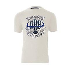 Raging Bull - Horns T/Shirt - Off White
