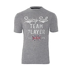 Raging Bull - Team Player T/Shirt - Grey