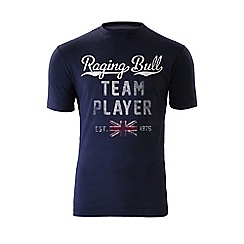 Raging Bull - Team Player T/Shirt - Navy
