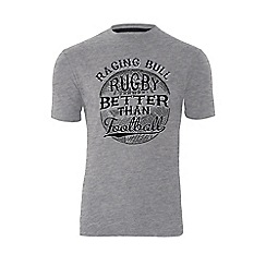 Raging Bull - Rugby Better Than Football - Grey
