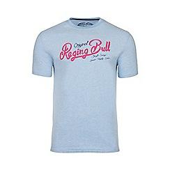 Raging Bull - Sky blue original RB appliqué tee