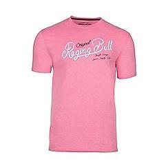 Raging Bull - Pink original RB appliqué tee