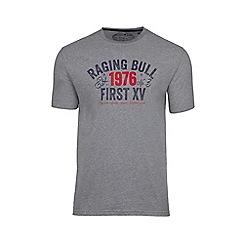 Raging Bull - Grey first XV tee
