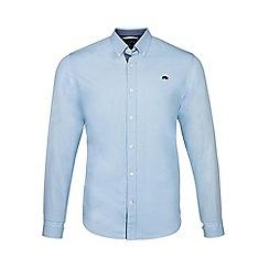 Raging Bull - Sky blue long sleeves plain poplin shirt