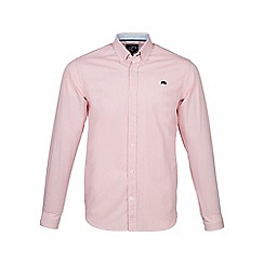 Raging Bull - Pink long sleeves candy stripe shirt